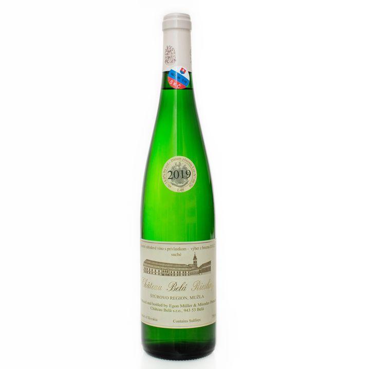 Slowakischer Weißwein, der mit der Zeit noch besser wird: Riesling vom Château Belá, ca. 15 Euro
