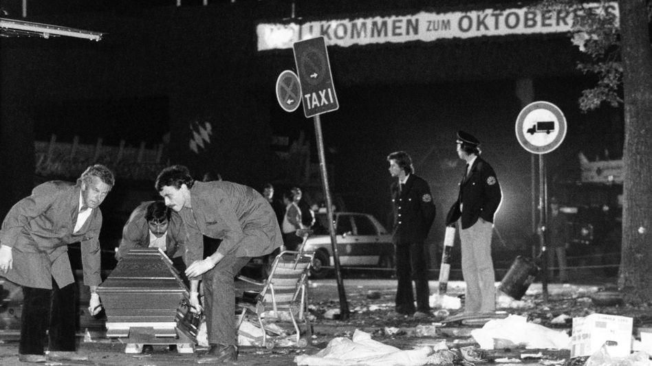 Oktoberfest-Attentat: Generalbundesanwalt nimmt Ermittlungenwieder auf