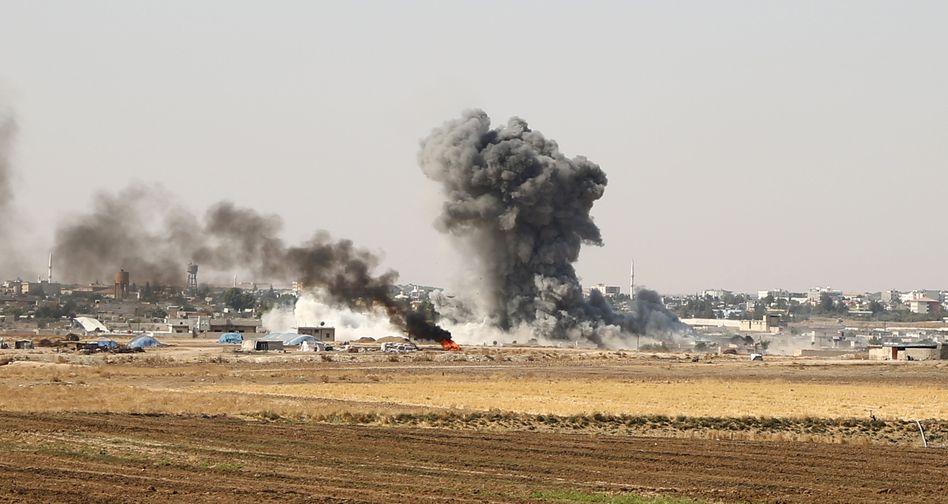Syrische Grenzstadt Ras al-Ain: Die türkische Offensive in Nordsyrien hatte zu einer Einschränkung der Rüstungsexporte geführt