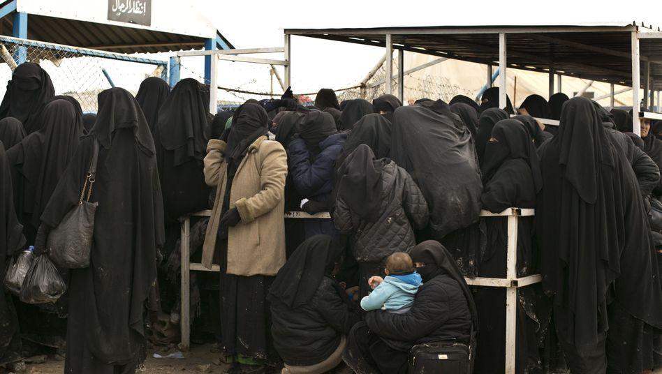 Lager im syrischen al-Haul (Archivbild): Katastrophale Zustände