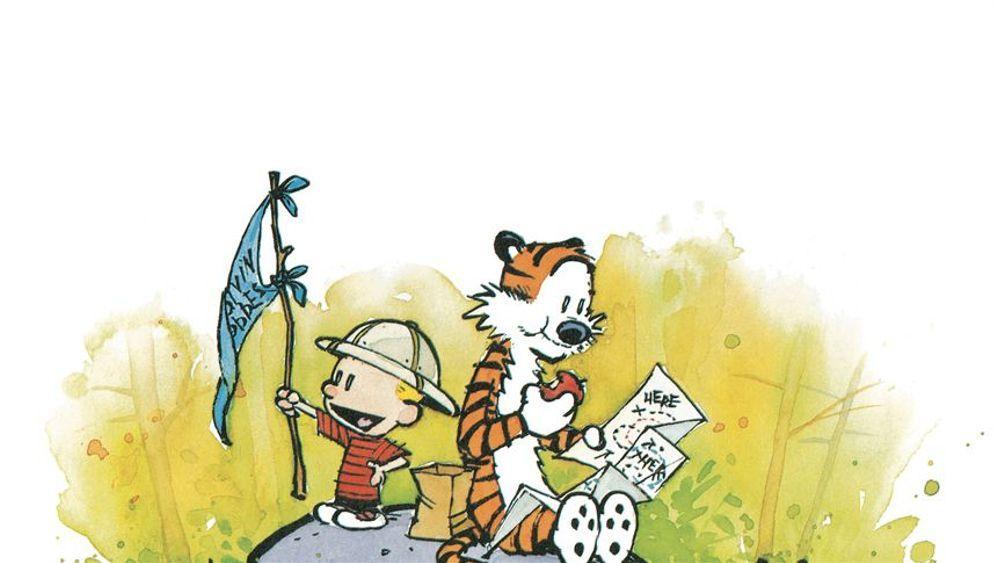 """""""Calvin und Hobbes"""": Ein Junge und sein Tiger"""