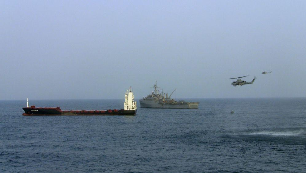 Piratenüberfall im Golf von Aden: US-Marine befreit deutschen Frachter