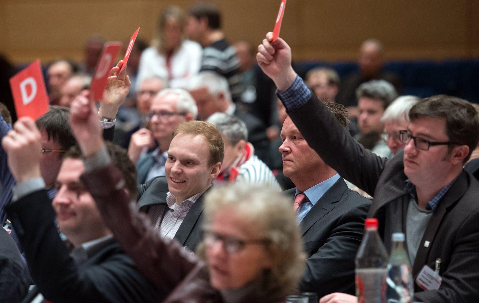 Sonderparteitag SPD Sachsen-Anhalt