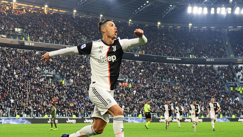Juventus-Superstar Cristiano Ronaldo: Bald wieder auf dem Platz?