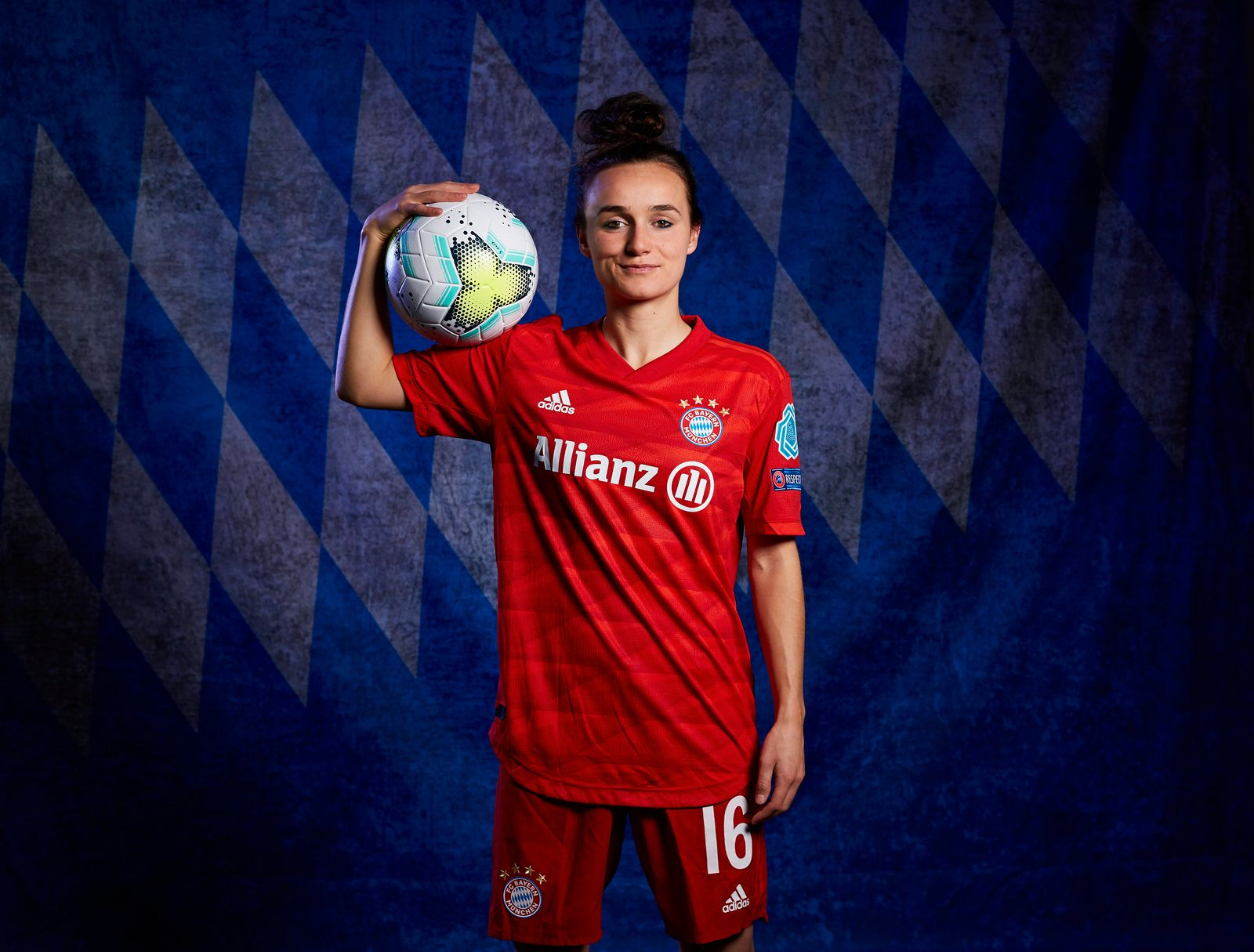 UEFA Women's Champions League Portrait Shoots: Bayern Munich
