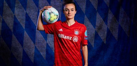 <div>Lina Magull vom FC Bayern München: