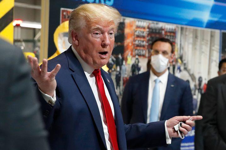 US-Präsident Donald Trump im Mai 2020: Aushöhlung der Demokratie