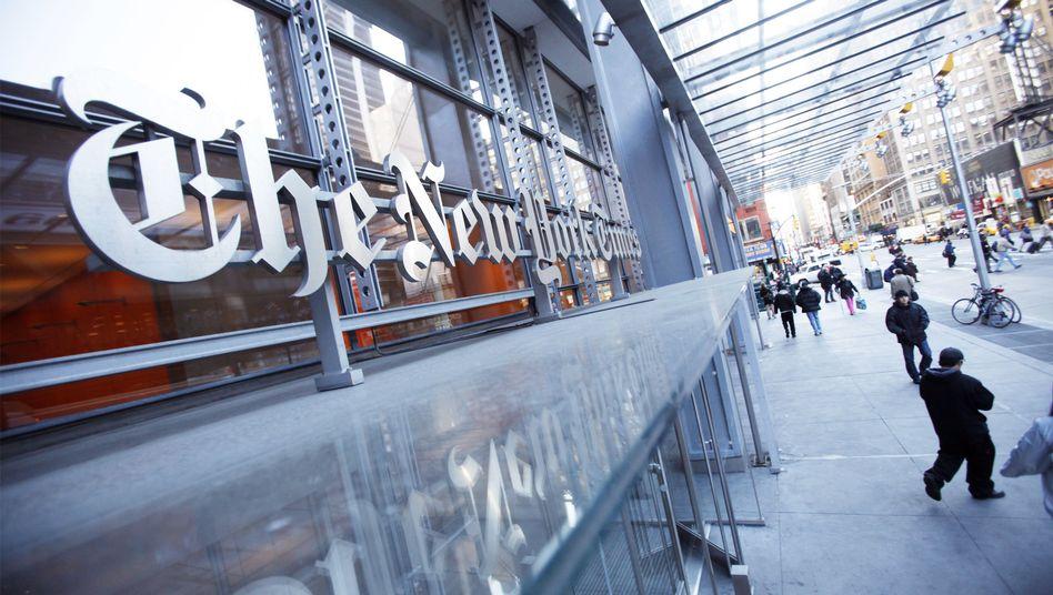 """""""New York Times""""-Zentrale: Neue Umsätze auf Smartphones?"""