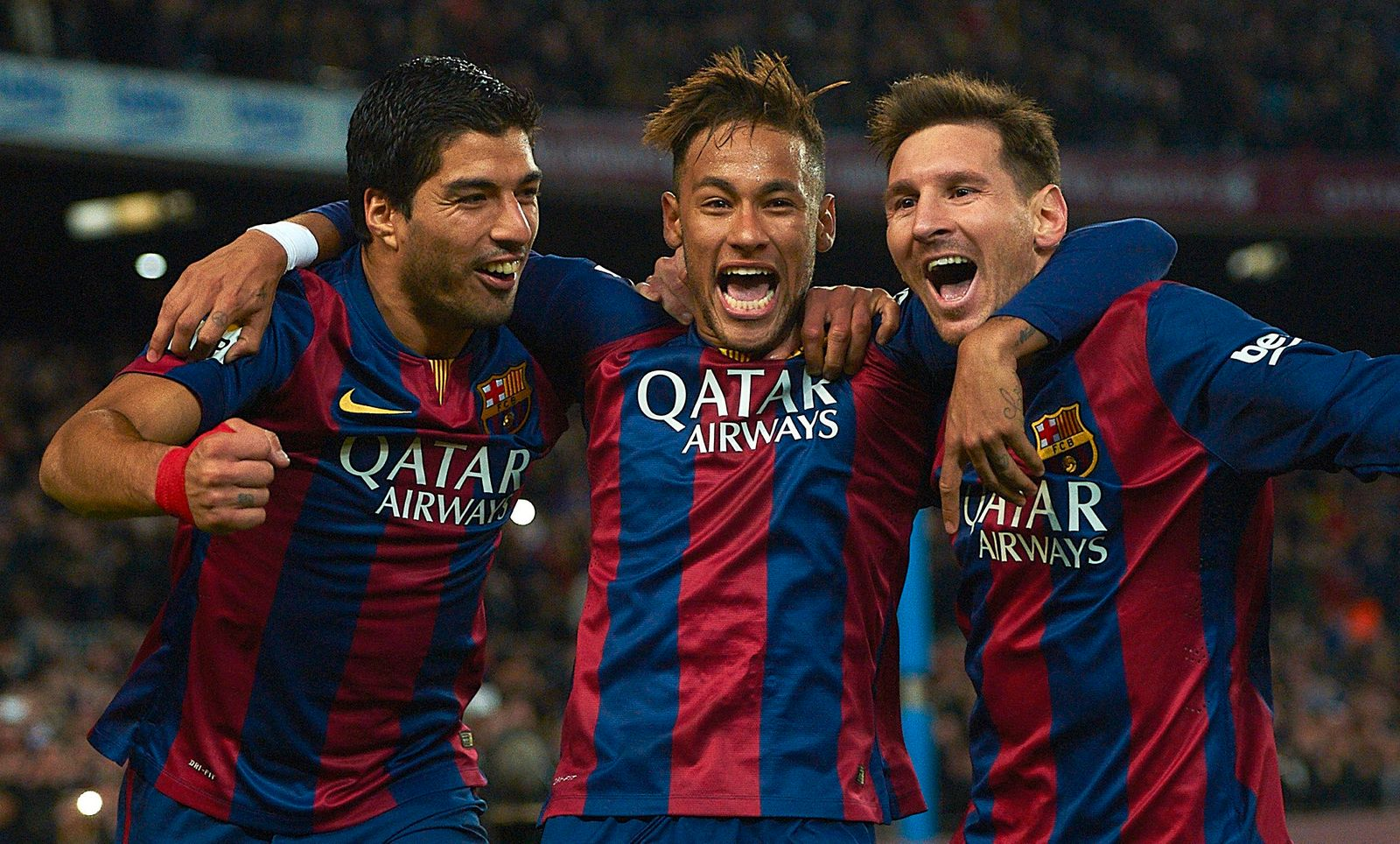 Neymar, Lionel Messi, Luis Suarez,