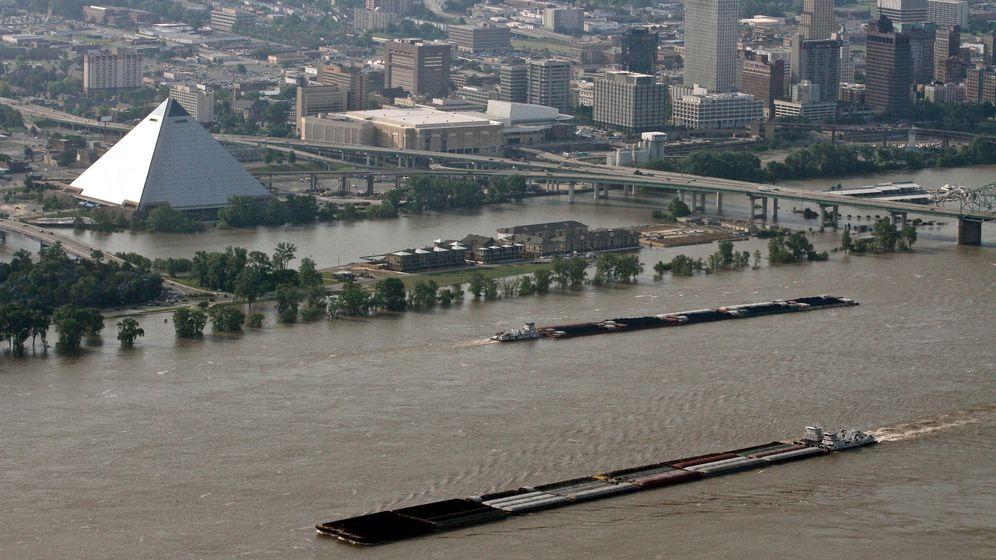 Flut in Memphis