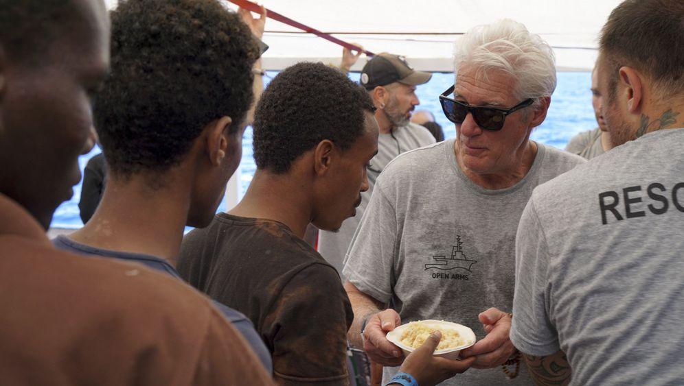 """Richard Gere bittet um Hilfe für Migranten: """"Bitte unterstützt uns"""""""