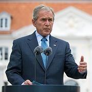 """US-Präsident Bush: """"Alle Optionen liegen auf dem Tisch"""""""