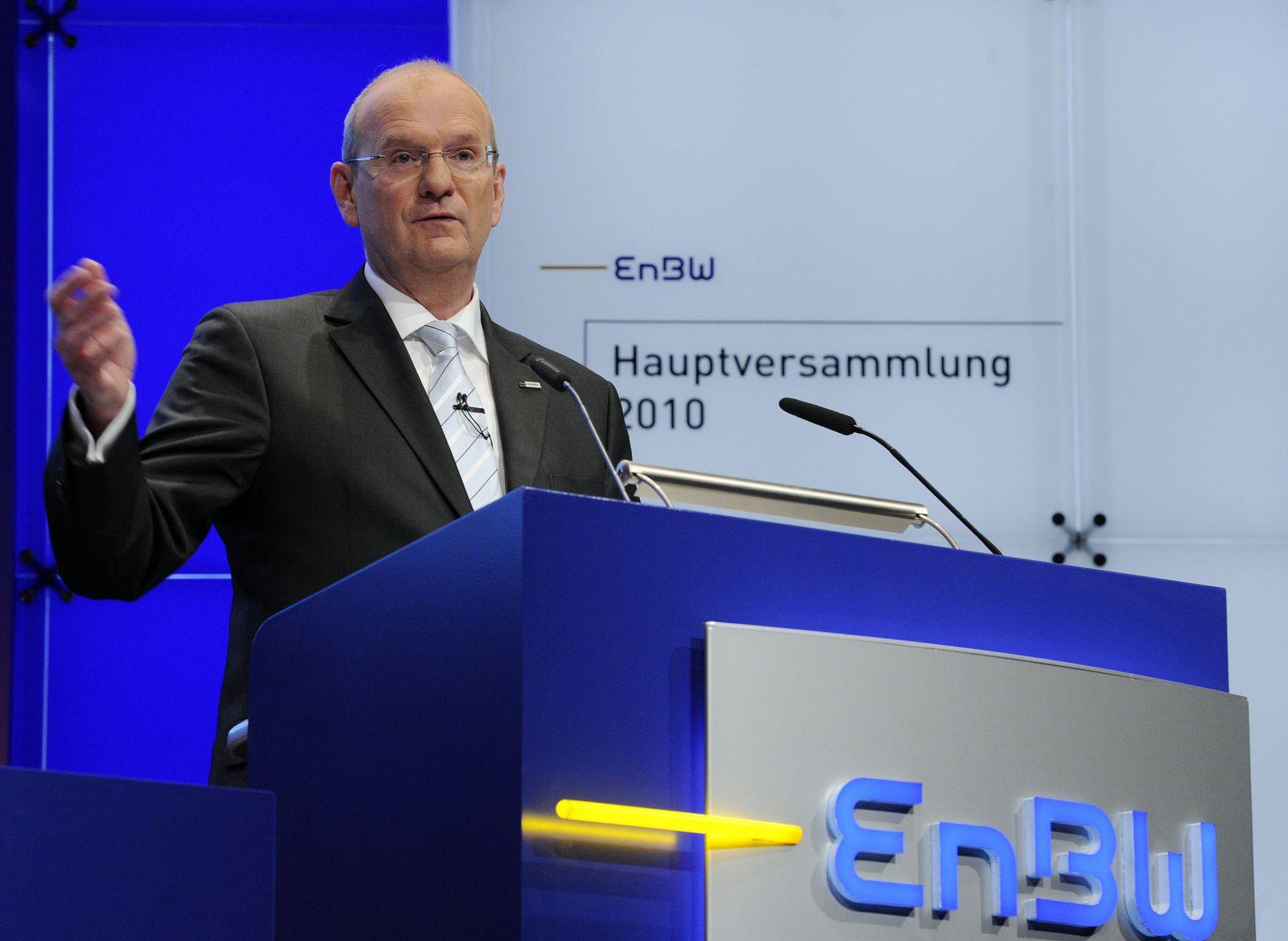 EnBW - Hauptversammlung 2010