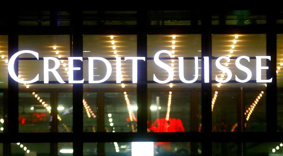 Logo der Credit Suisse in Zürich: Beschattungsaktion hat Konsequenzen