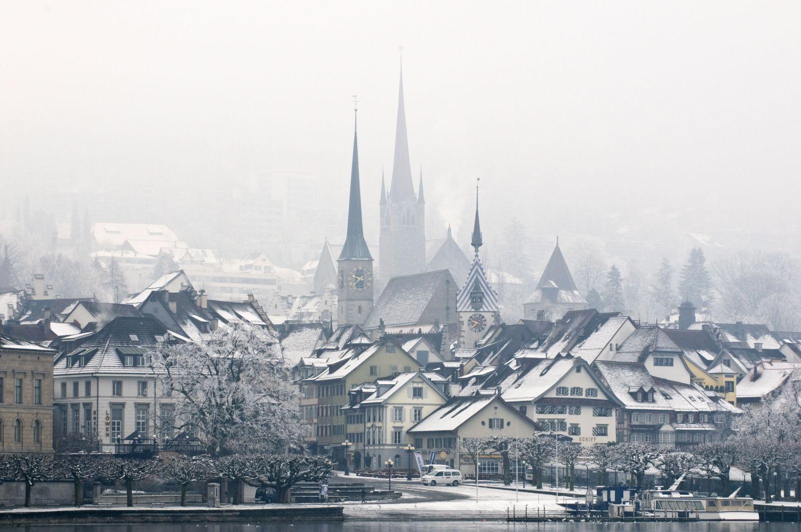 NICHT MEHR VERWENDEN! - Zug / Zugernsee / Schweiz