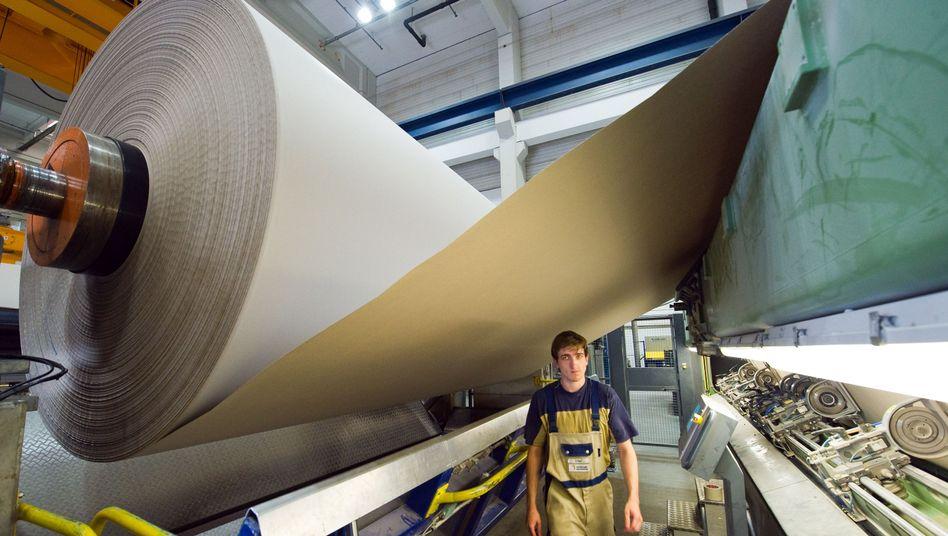 Papierfabrik in Spremberg: Forscher loben Wettbewerbspolitik in Deutschland