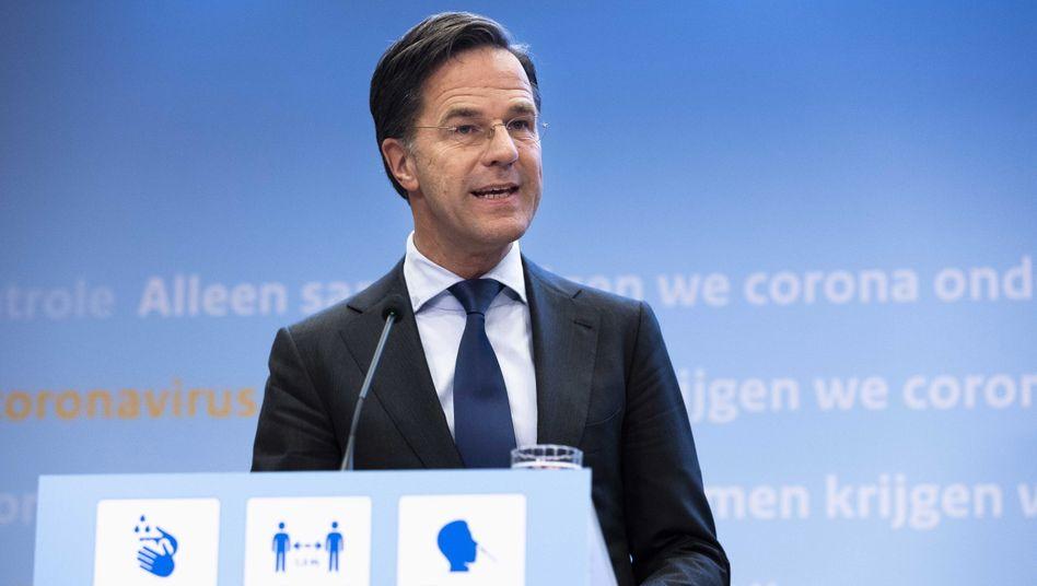 »Wir sind natürlich froh, dass dies wieder möglich ist, denn die Gesellschaft sehnt sich nach mehr Freiheit«, so Mark Rutte