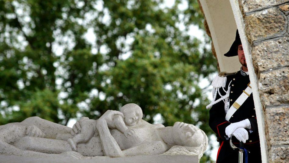Monument für italienische Nazi-Opfer in Sant'Anna di Stazzema
