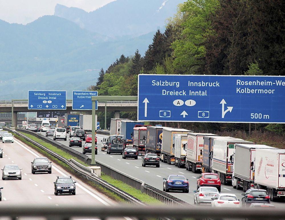 Bayern, Rosenheim / österreich Grenzgebiet