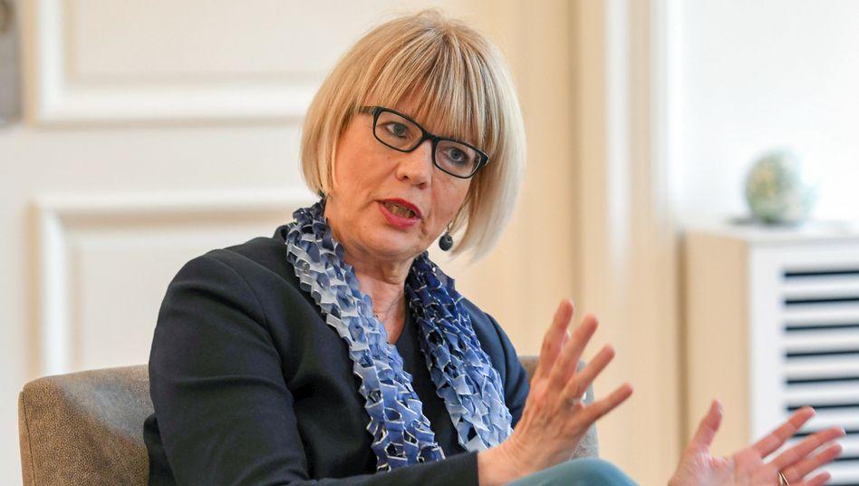 Helga Schmid, gegenwärtige Generalsekretärin des Europäischen Auswärtigen Dienstes