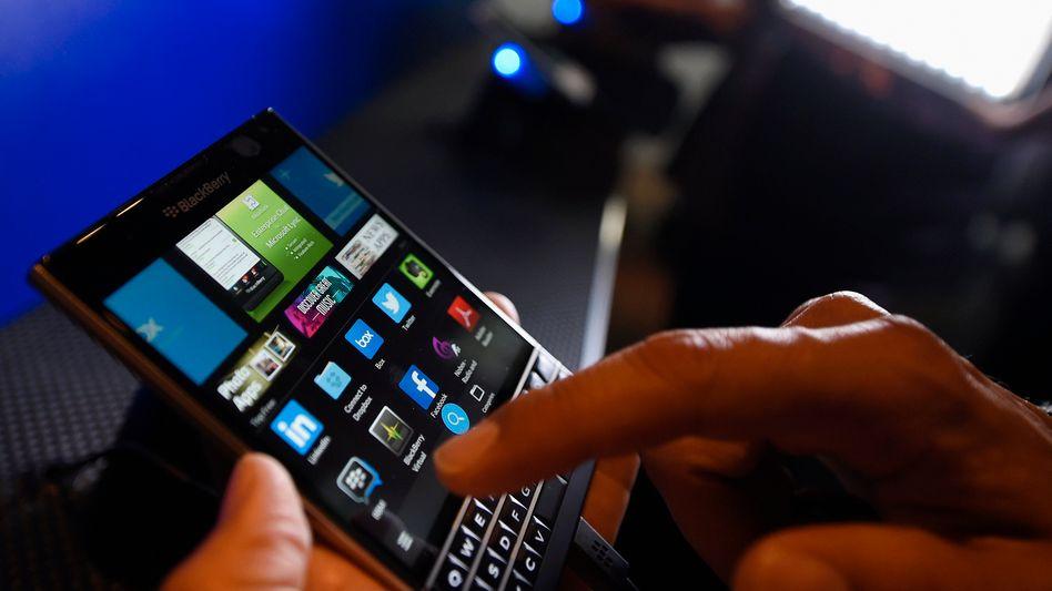 Smartphone Blackberry Passport: Interesse von Samsung?