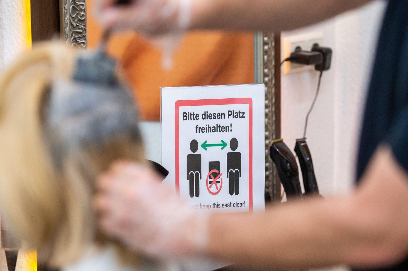 Coronavirus - Öffnung Friseure - Berlin