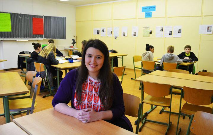 """Abiturientin Ajshe Mushkolaj: """"Zuhören und mit den Lehrern reden"""""""