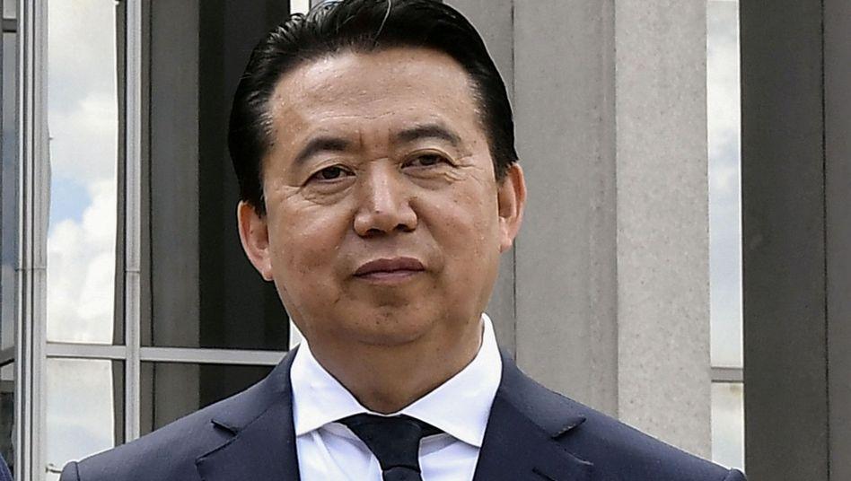 Meng Hongwei: Dem Ex-Interpol-Chef wird Korruption vorgeworfen