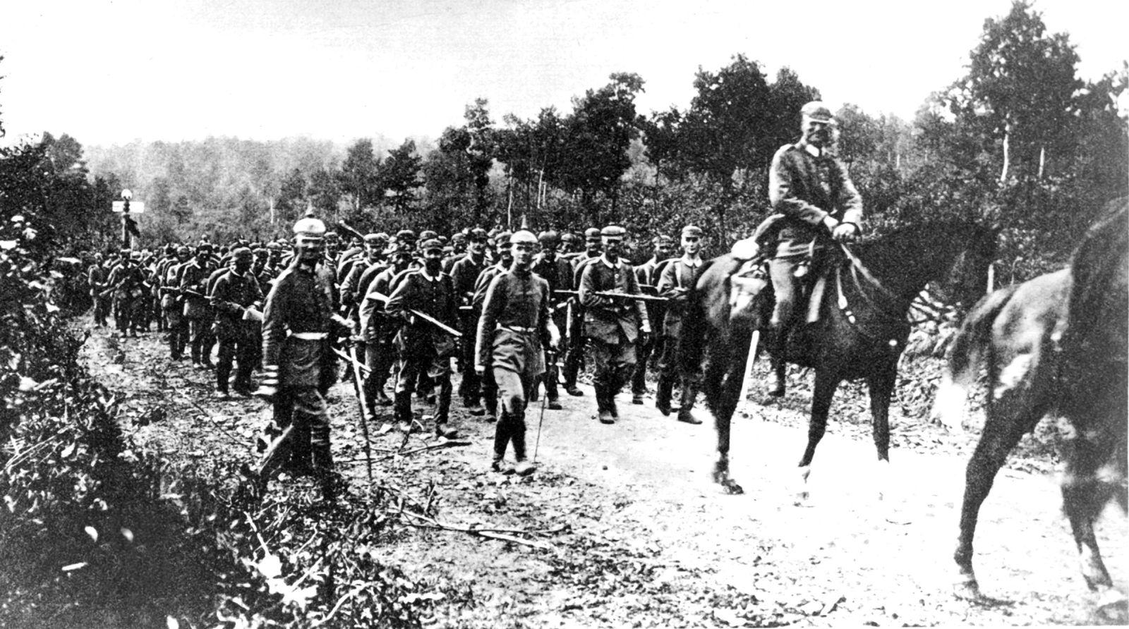 150 Jahre SPD/ Erster Weltkrieg - Westfront