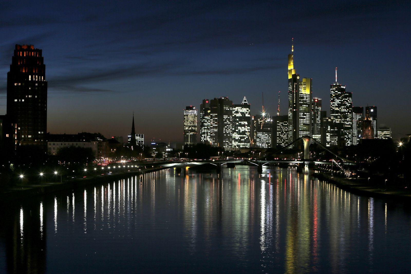 Frankfurt / Banken-Viertel / Banken