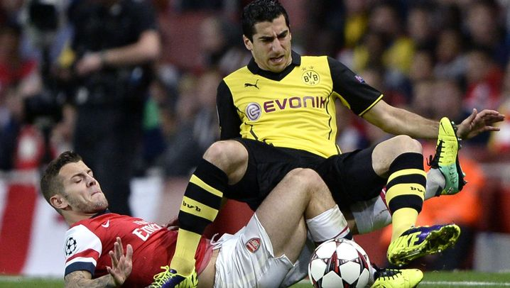 Arsenal vs. BVB: Später Treffer, großer Jubel