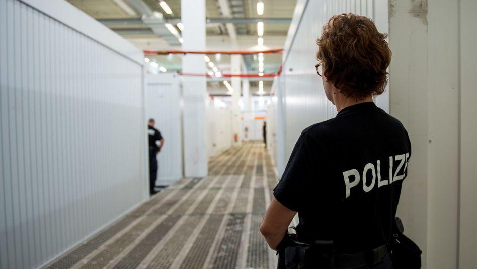 Gefangenensammelstelle für G20-Gipfel (Juli 2017)