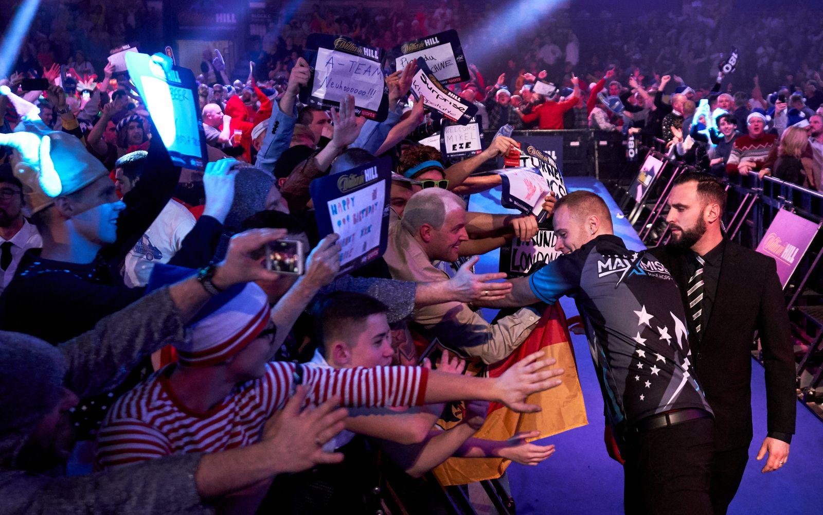 Darts-WM im Alexandra Palace