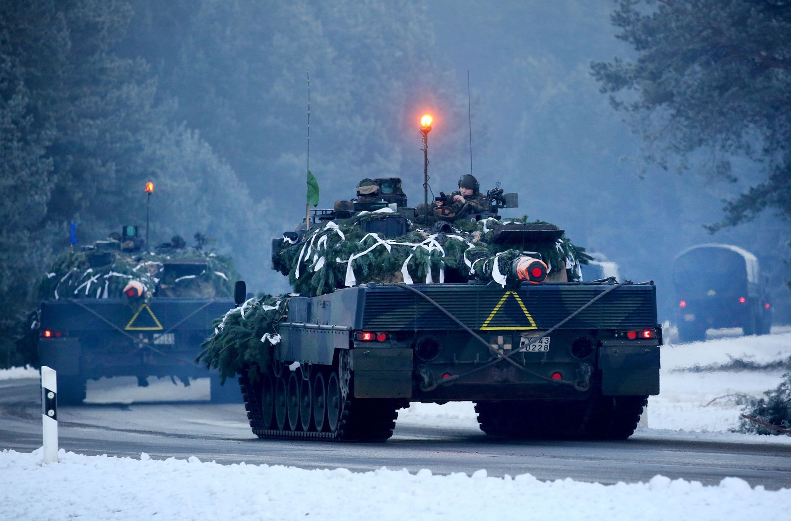 Leopard-Panzer der Bundeswehr