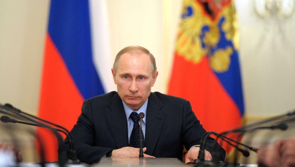 """Präsident Putin: Janukowitsch ist """"juristisch gesehen"""" noch legitimer Präsident der Ukraine"""
