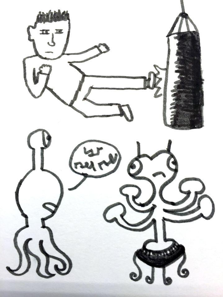 Vito mag Kung-Fu - und Aliens