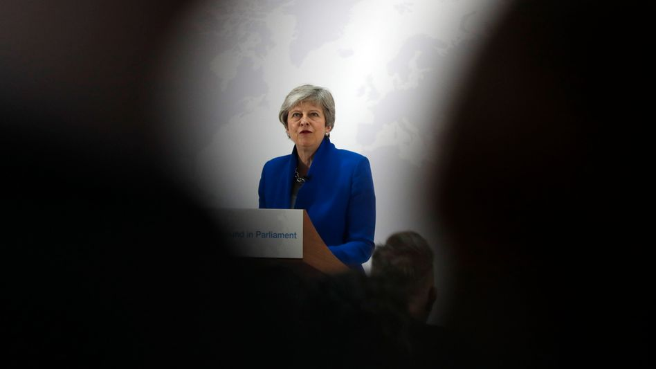 Noch-Premierministerin Theresa May