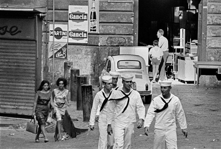 Matrosen in Neapel 1964
