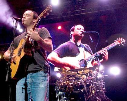 Dave Matthews Band: Toilettentank an der falschen Stelle entleert