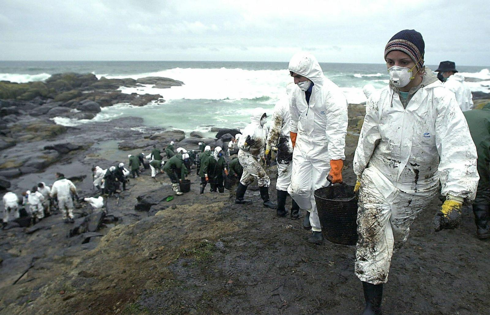 Prestige/ Ölkatastrophe/ Spanien