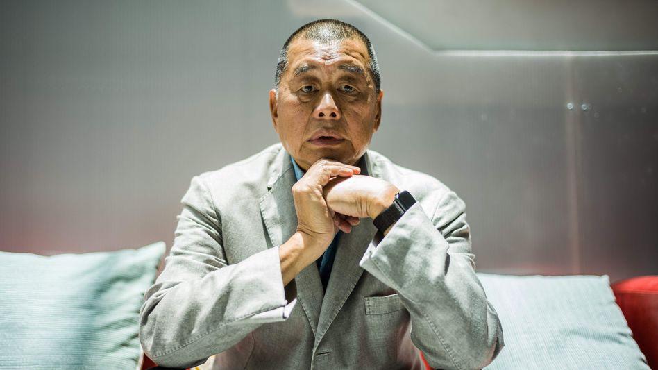Inhaftierter Jimmy Lai