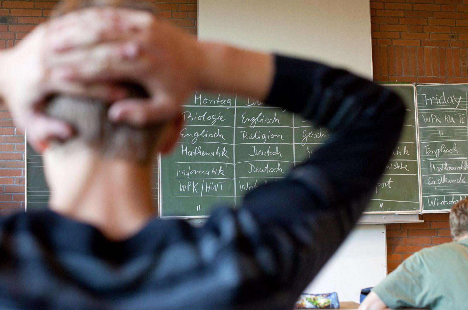 Schulvergleich Schüler Klassenzimmer