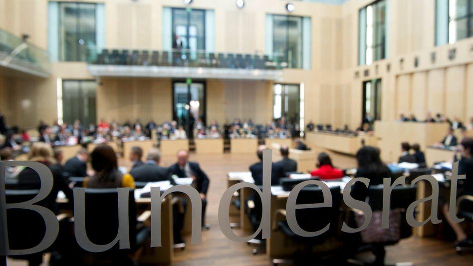 Sitzung im Bundesrat: Meldegesetz vom Tisch