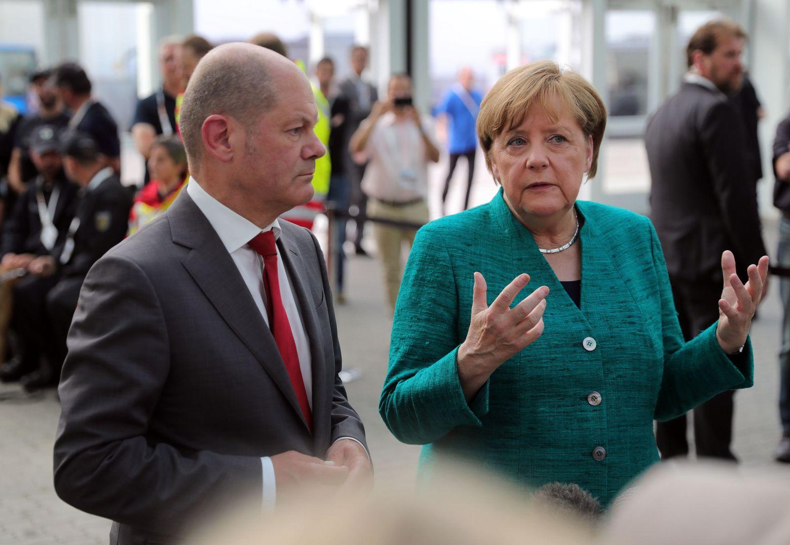 G20-Gipfel · Merkel dankt Einsatzkräften