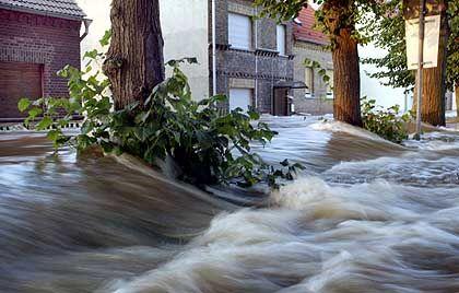 Jahrhunderflut 2002: Die Elbe überflutet Wittenberg