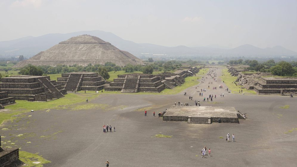 Archäologie: Adel zu Besuch in Teotihuacán