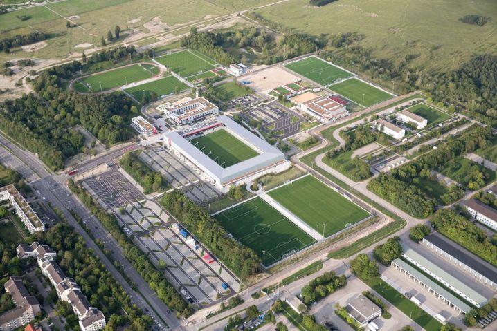 FC Bayern Campus in München