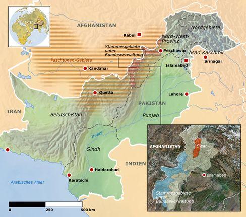 Pakistan: Vor allem in den Westprovinzen sind die Hochburgen der Islamisten