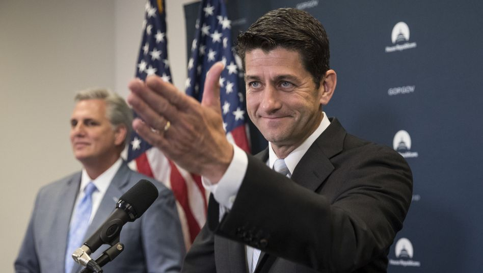 Sanktions-Befürworter Paul Ryan (Republikaner)