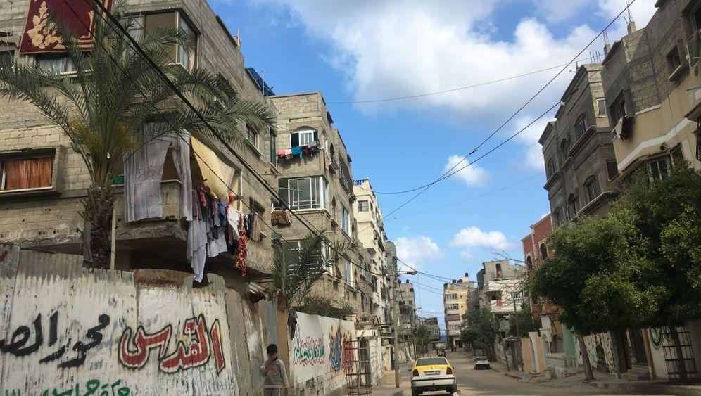 Fotostrecke: Eselkarren und Essensmarken - Leben in Gaza